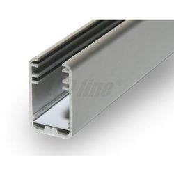 PROFIL aluminiowy na szybę 8 mm do TAŚMY LED 2 metry