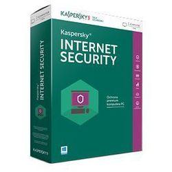 Kaspersky Internet Security 2016 1 urządzenie na 1 rok elektroniczna