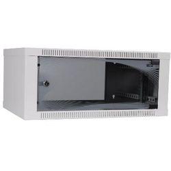 apra-optinet ecoVARI szafa wisząca 19'' 4,5U/400mm, jednosekcyjna, drzwi szklane