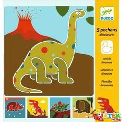 DJECO Szablony Dinozaury