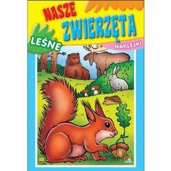 Kolorowanka. Nasze zwierzęta - Leśne (B5, 16 str.)