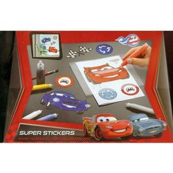 Cars Super Window Stickers Naklejki na szybę