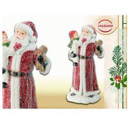 Mikołaj z dzieckiem na ręku