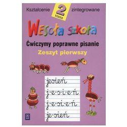 Język polski, klasa 2, Wesoła szkoła. Pisanie, zeszyt 1, WSiP