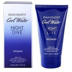 Davidoff Cool Water Night Dive żel pod prysznic dla kobiet 150 ml + do każdego zamówienia upominek.