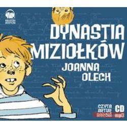 Dynastia Miziołków. Książka audio (opr. kartonowa)