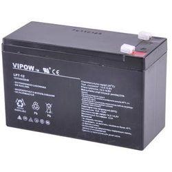 akumulator żelowy AGM Vipow 12V 7Ah