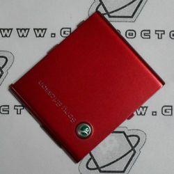 Obudowa Sony Ericsson W910i tylna / pokrywa baterii czerwona
