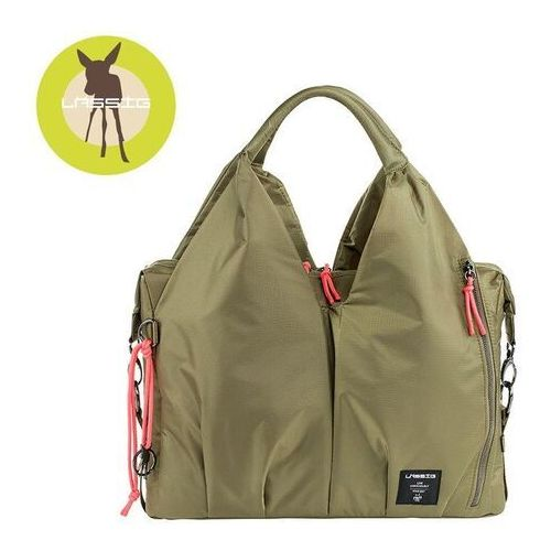 LÄSSIG Green Label Torba na akcesoria do przewijania Neckline Bag POP olive