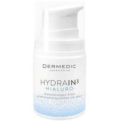 Dermedic Hydrain 3, krem nawadniający przeciwzmarszczkowy, na dzień, 55 g