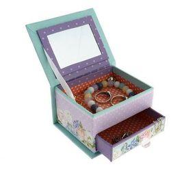 Kolekcja Wiosenna Wyprawa małe pudełko na biżuterię z szufladką