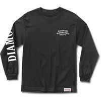 koszulka DIAMOND - Bulldogs L/S Tee Black (BLK)
