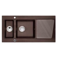 Zlewozmywak DEANTE Modern 1.5-komorowy z ociekaczem brązowy metalik + DARMOWA DOSTAWA! + Zagwarantuj sobie dostawę jutro!