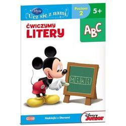 Disney Ucz się z nami. Klub Przyjaciół Myszki Miki. Ćwiczymy litery UDE2 (opr. miękka)
