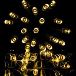 LAMPKI CHOINKOWE NA DOM 200 DIOD CIEPŁO BIAŁYCH - 200 LED / 10 METRÓW