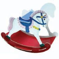 Konik na biegunach - zabawka marki HappyPet