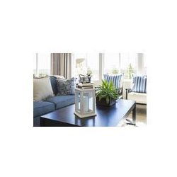 Foto naklejka samoprzylepna 100 x 100 cm - Salon z Stolik, kanapy i fotele