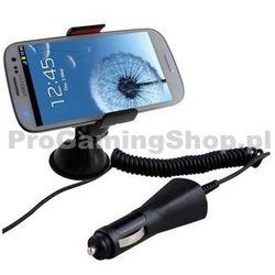 Uchwyt samochodowy (długość 20 arm cm) ładowarka samochodowa do Sony Ericsson Xperia Mini i