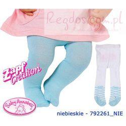 Baby Annabell Rajstopki Dla Lalki 2pary Niebieskie