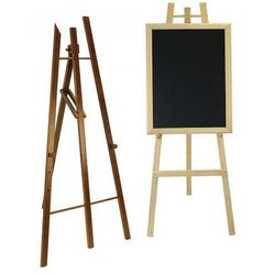 Sztaluga z drewna bukowego, teak, wys. 165 cm