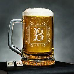 Monogram - Personalizowany Kufel - Kufel do piwa
