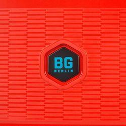 664b5dd3d9658 BG Berlin ZIP2 walizka mała kabinowa antywłamaniowa 20/55 cm / czerwona -  Latin Red