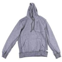 bluza REELL - Stitch Pocket Hoody Dark Grey Melange (DARK GREY MELANGE)