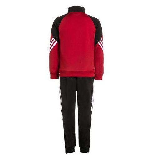 Czarno czerwony dres treningowy Adidas Sereno 14 junior D82933