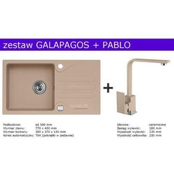 Zestaw AVLEUS GALAPAGOS + PABLO (kolor BEŻOWY)