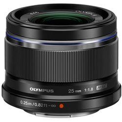 Obiektyw OLYMPUS M.Zuiko Digital 25mm f/1.8 czarny