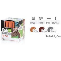 Palisada ogrodowa IPAL5 TERRAKOTA 24cm x 2,7m Prosperplast
