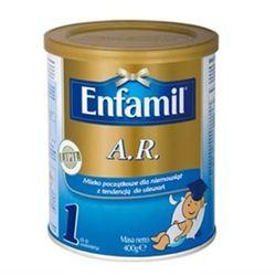 Mleko ENFAMIL AR 1 A.R. 1 mleko początkowe przeciw ulewaniu 0-6 miesiąc 400g