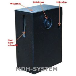 Mini kamera do ukrycia, 640 x 480 px, możliwość programowania, funkcja nadpisywania nagrań, kamera poklatkowa, DVR-AV3
