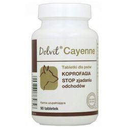 DOLFOS Dolvit Cayenne preparat dla psów - KOPROFAGIA, 90tabl.