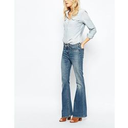 Levis High Rise Flare Jeans - Blue