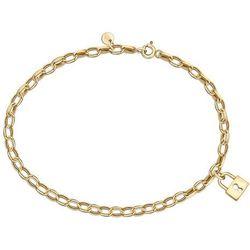 YES Charms -złota bransoletka
