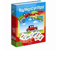 Puzzle magnetyczne Samochody Alexander