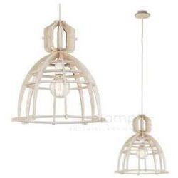 LAMPA wisząca BIOWAY 6880 Nowodvorski drewniana OPRAWA ekologiczny zwis drewno
