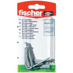Kołki rozporowe z hakiem kątowym Fischer 94258 UX, 6 x 35 mm, 4 szt.