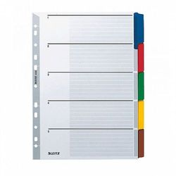 Przekladki indeksujące Leitz A4/5kart 4320