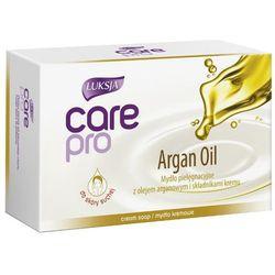 LUKSJA 100g Care Pro Argan Oil Mydło pielęgnacyjne do skóry suchej