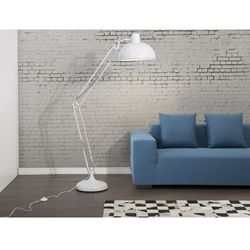 Lampa stojaca biala- lampa podlogowa - lampa biurowa - oswietlenie - PARANA