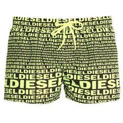 Diesel BMBXSANDYE Szorty kąpielowe black/yellow