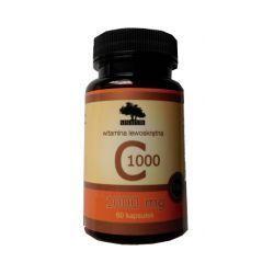 SINATUR WITAMINA C LEWOSKRĘTNA 1000 mg - 60 kaps.