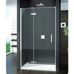 SanSwiss Pur drzwi prysznicowe ze ścianką stałą w linii PU13GSM21007