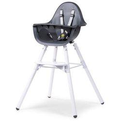 Krzesło do karmienia Evolu 2 - 2w1 biały/antracyt