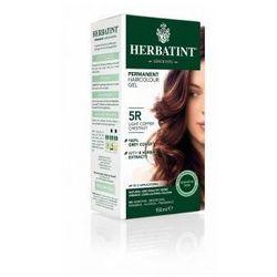 Naturalna trwała farba do włosów - JASNY MIEDZIANY KASZTAN 5R - HERBATINT
