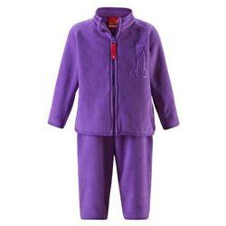 Komplet polarowy dwuczęściowy Reima ETMIN bluza/spodnie fioletowy