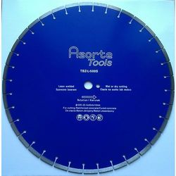 Asorte Tools_Tarcza diamentowa do betonu i żelbetonu fi 500mm spawana laserem (Do piły drogowej)