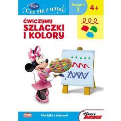 Disney Ucz się z nami. Klub Przyjaciół Myszki Miki. Ćwiczymy szlaczki i kolory UDE4 (opr. miękka)